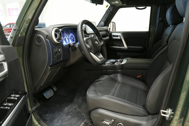 صورة داخلية للسيارة  بايك BJ40 بريميوم 2021