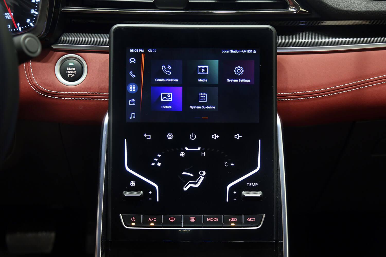 صورة داخلية للسيارة  سايك موتور Maxus D60-luxury 2022