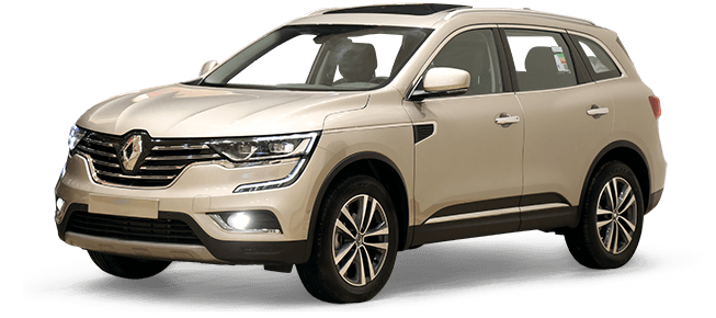 RENAULT KOLEOS LE black leather 2018