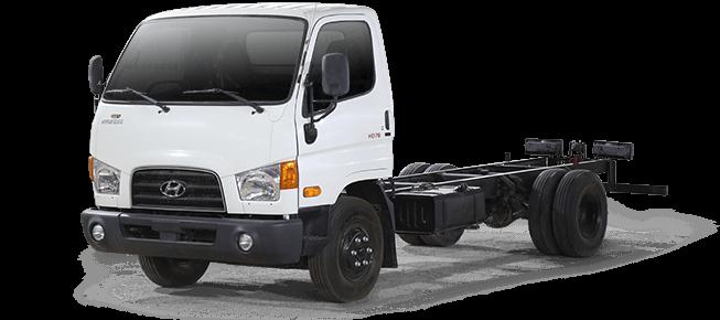 HYUNDAI Dina chassis  mighty HD78 2017
