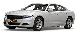 DODGE Charger SXT-A light beige leat...