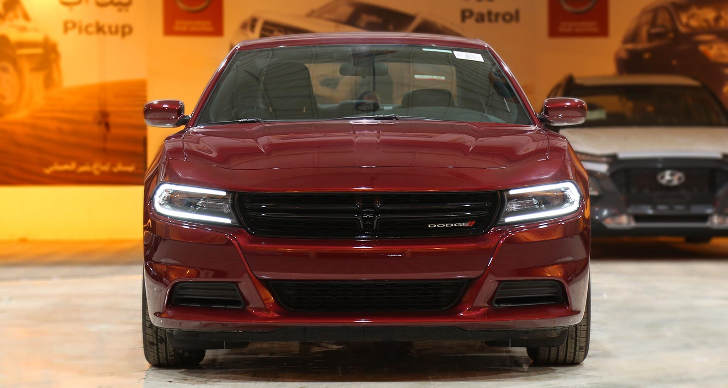 Exterior Image for  DODGE Charger SXT-A red leather 2020