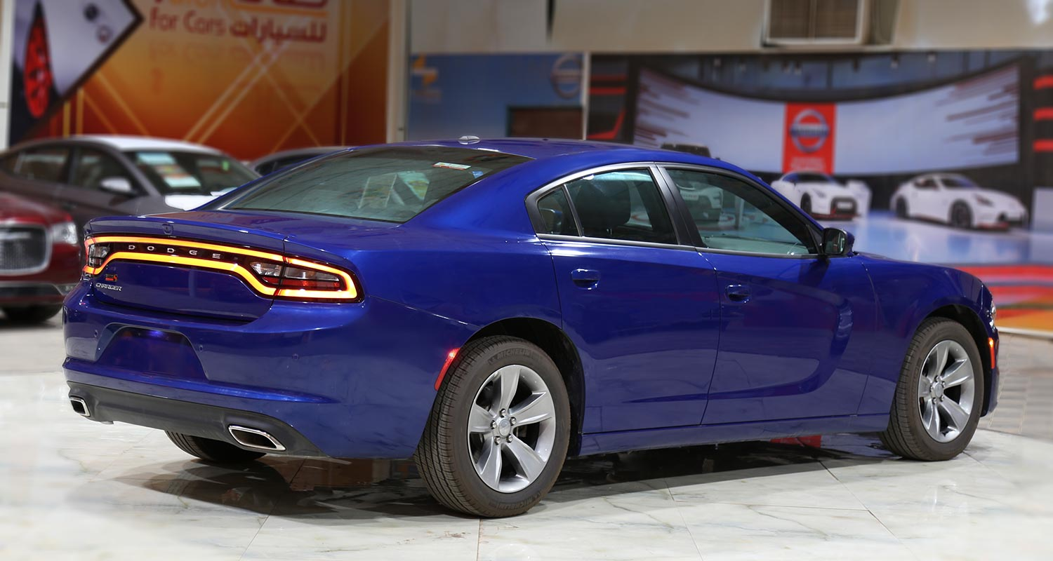 Exterior Image for  DODGE Charger SXT-A light beige leather 2020