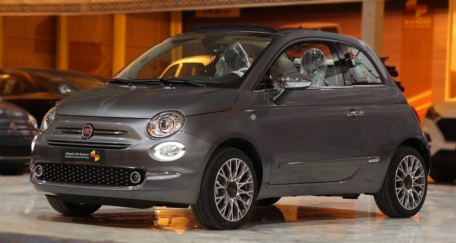Exterior Image for  FIAT 500C Convertible 2021