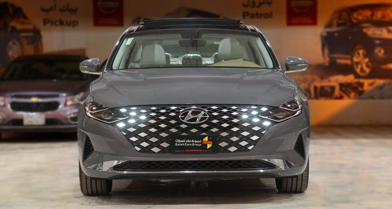 صورة خارجية للسيارة  هيونداي ازيرا SMART-PLUS 2021