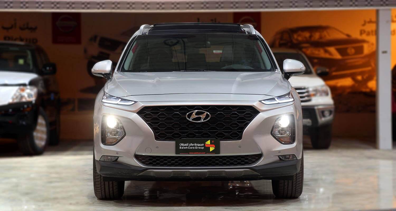 صورة خارجية للسيارة  هيونداي سنتافي HTRAC 2020