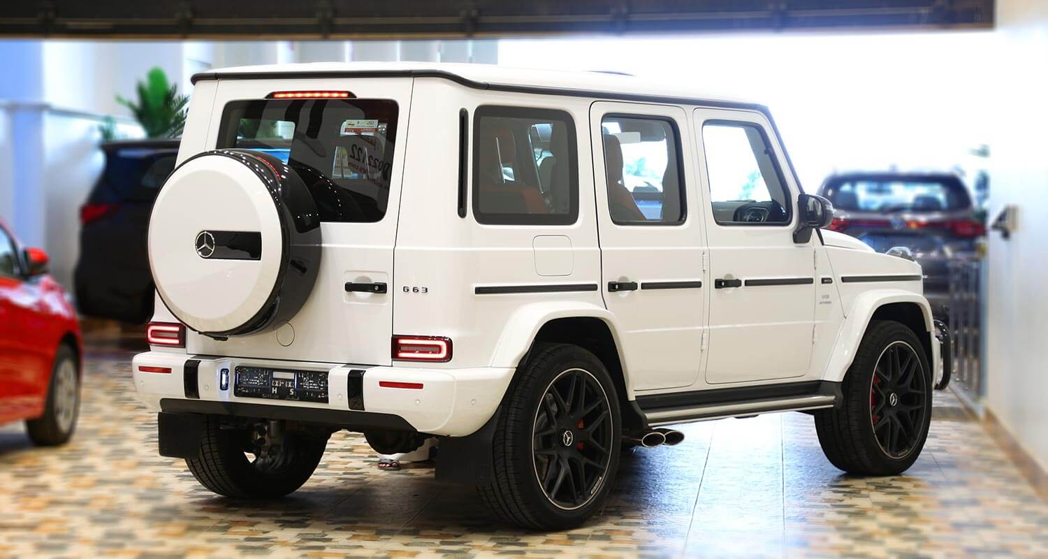 Exterior Image for  MERCEDES BENZ G63 AMG 2020