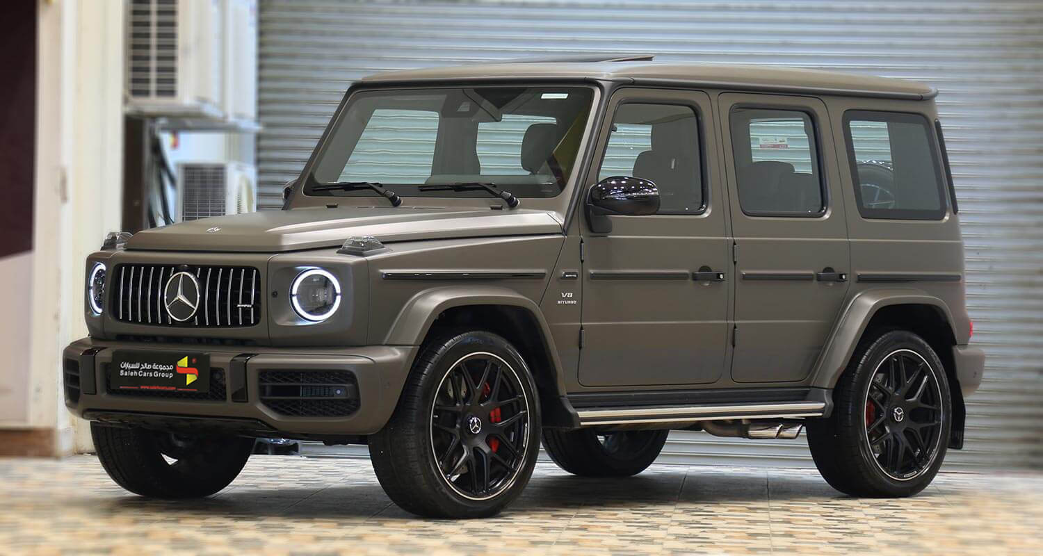 Exterior Image for  MERCEDES BENZ G63 AMG-Adition 2020