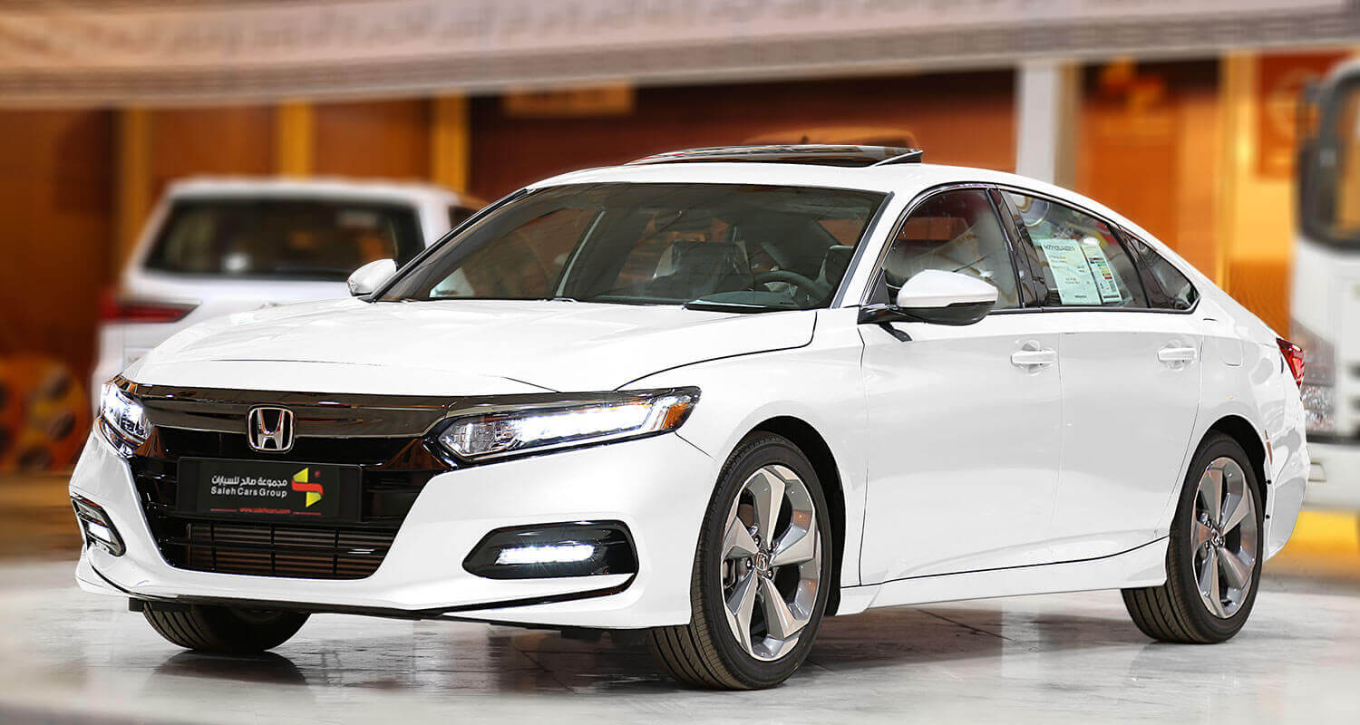 Exterior Image for  HONDA Accord LX SPORT red leather 2019