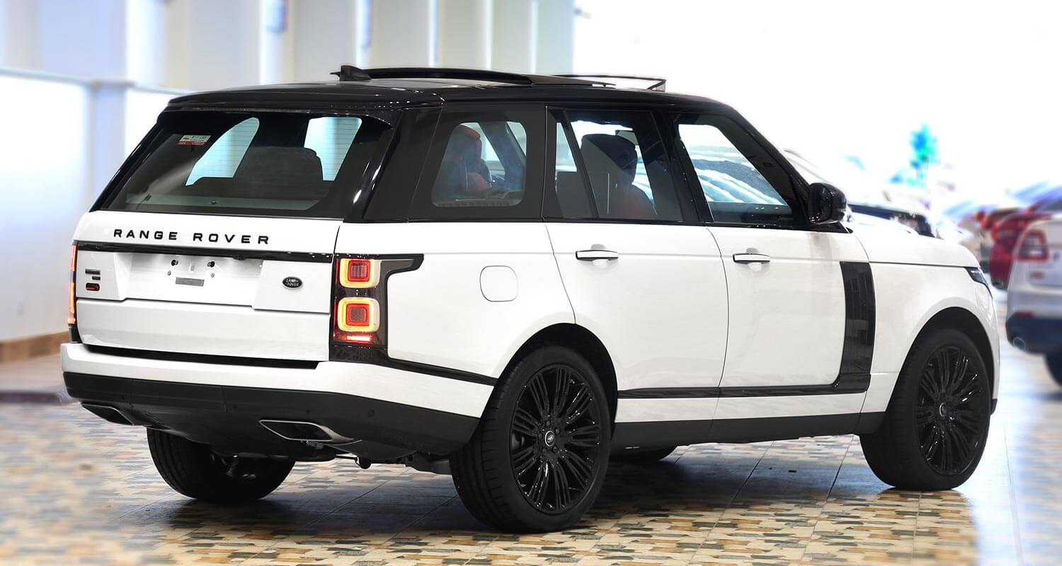 Exterior Image for  RANGE ROVER AUTOBIOGRAPHY Black Edition 2020