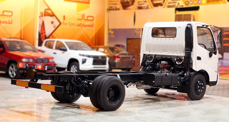 صورة خارجية للسيارة  هينو شاحنة شاسيه 300 714XZU10L 2020
