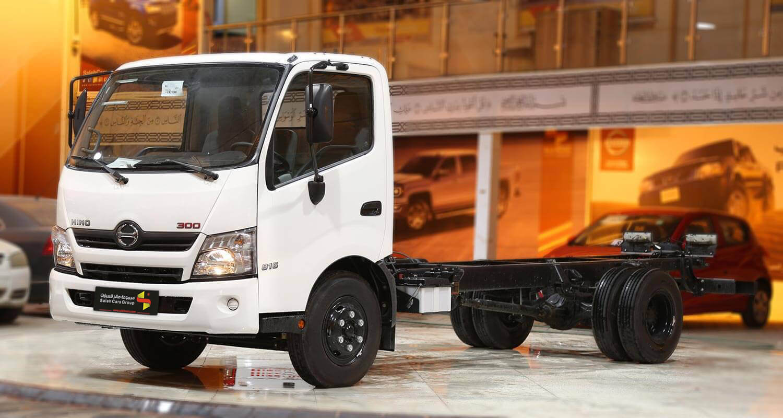 صورة خارجية للسيارة  هينو شاحنة شاسيه 300 816XZU720 2020