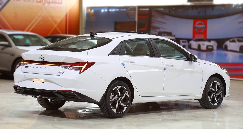 صورة خارجية للسيارة  هيونداي النترا GLS-MID 2021
