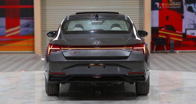 صورة خارجية للسيارة  هيونداي النترا GLS-SMART-PLUS 2021