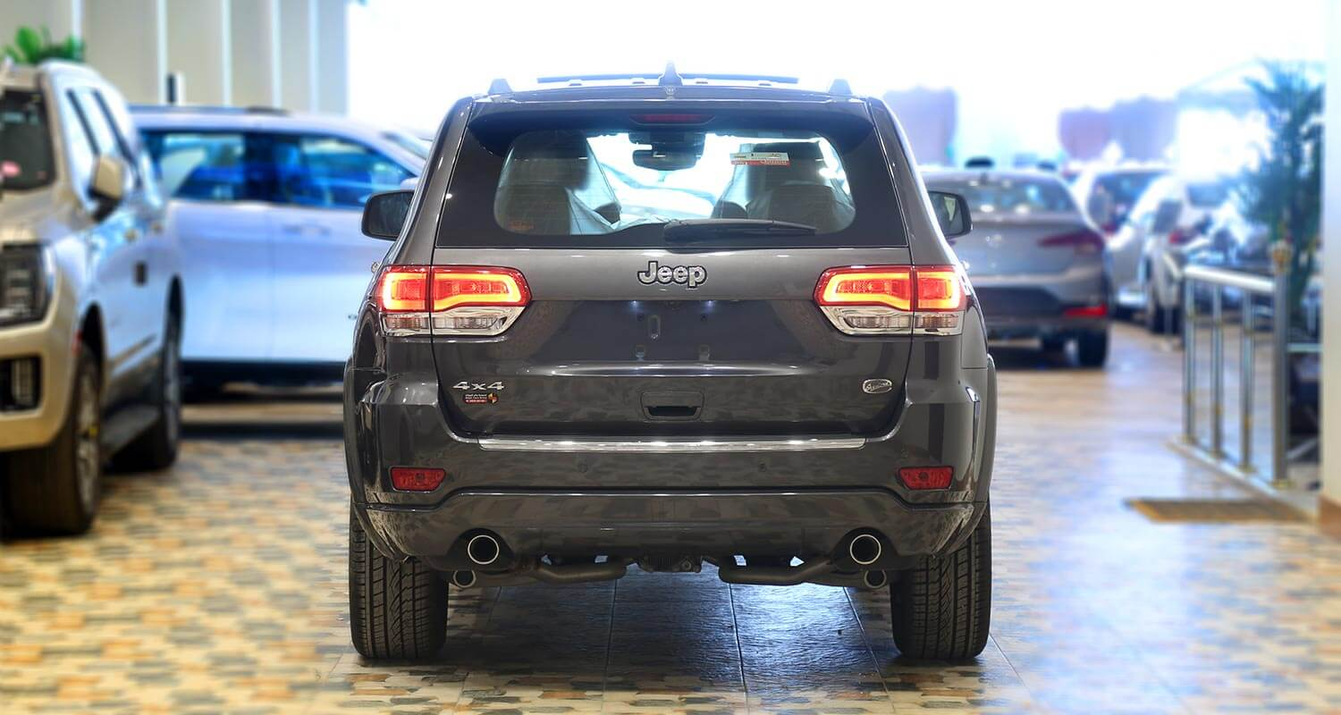 Exterior Image for  Jeep Grand Cherokee Overland 2019