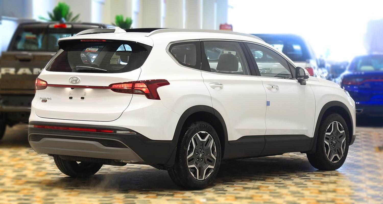 صورة خارجية للسيارة  هيونداي سنتافي SMART-PLUS 2021