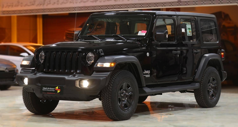 Exterior Image for  Jeep Wrangler SPORT 2021