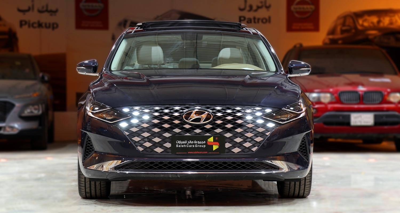 صورة خارجية للسيارة  هيونداي ازيرا MID 2021