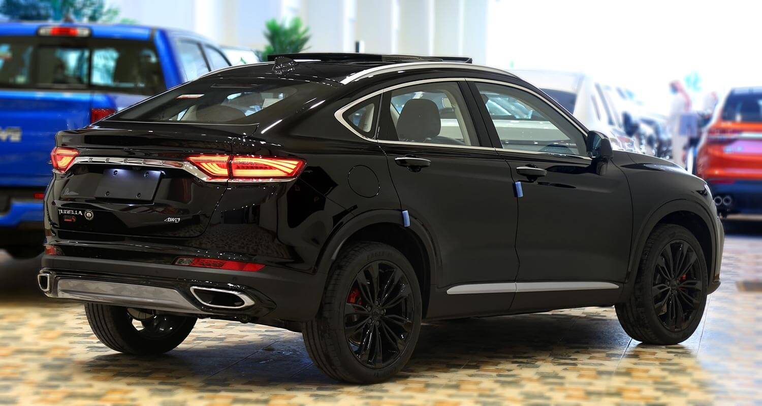 Exterior Image for  GEELY Tugella GF 2021