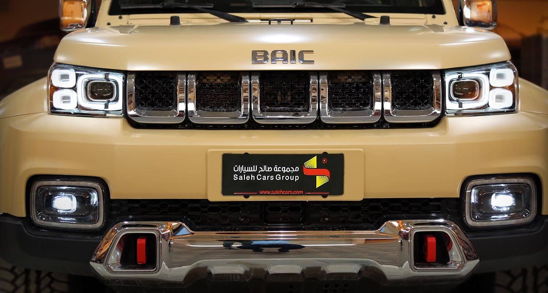 Exterior Image for  BAIC BJ40 PLUS Champion 2021