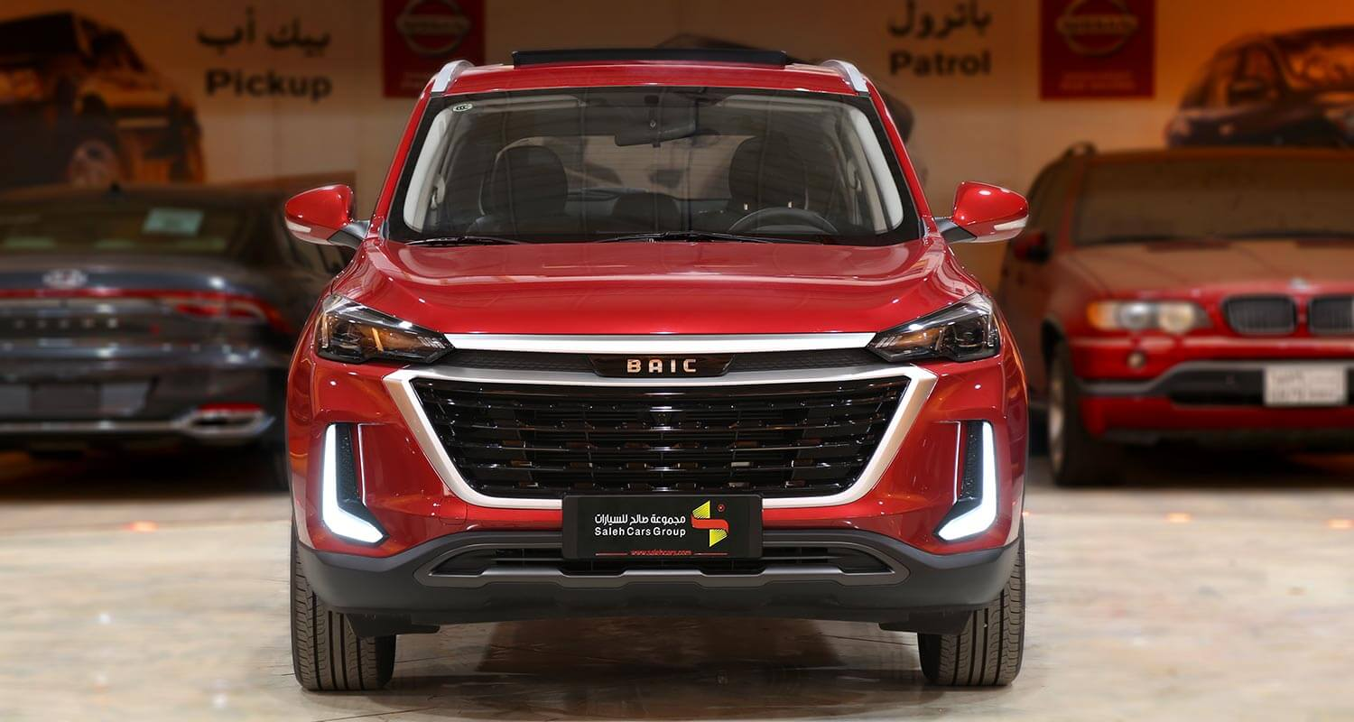 Exterior Image for  BAIC X35 Luxury 2021
