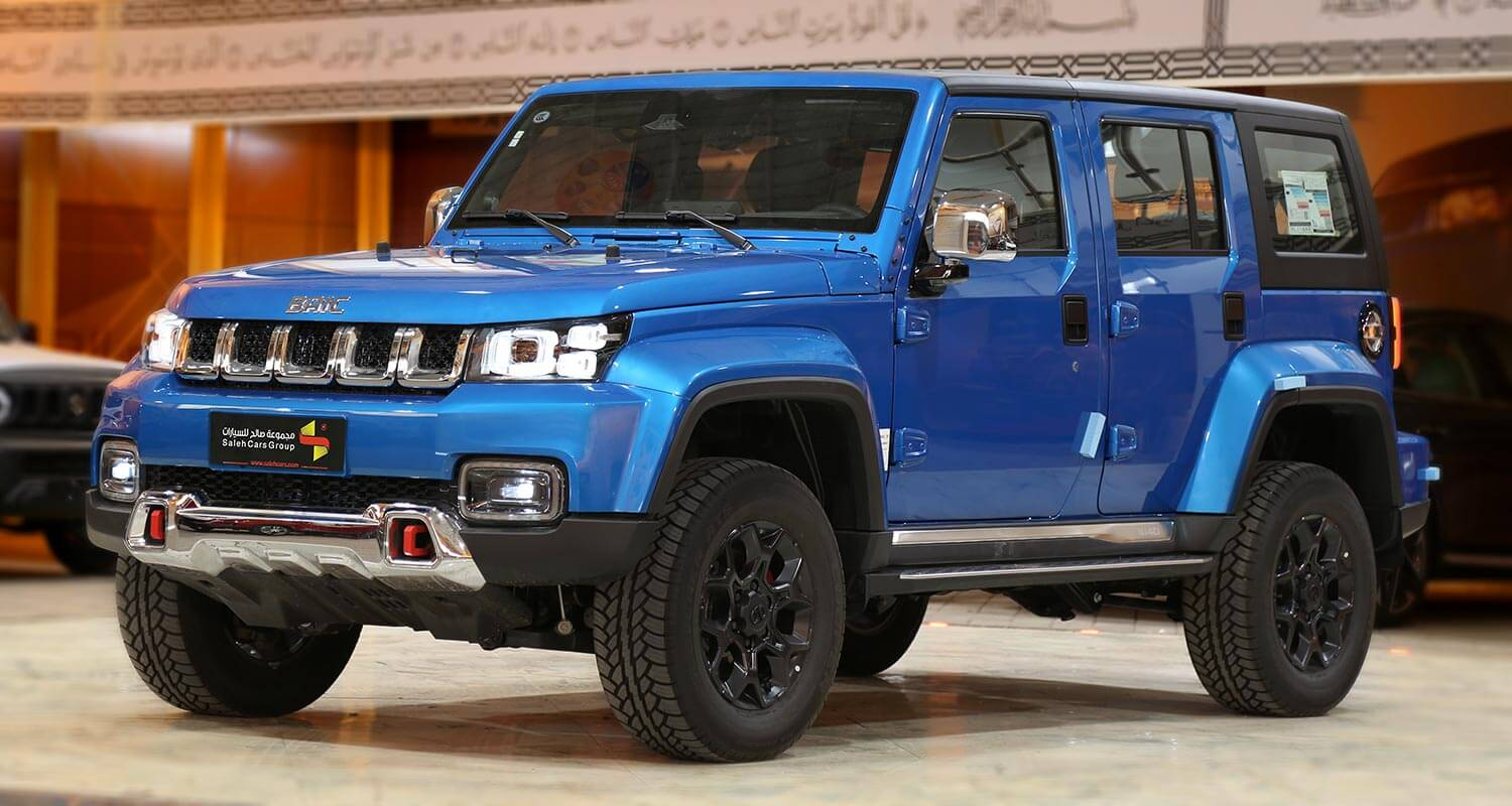 Exterior Image for  BAIC BJ40 PLUS Champion 2021