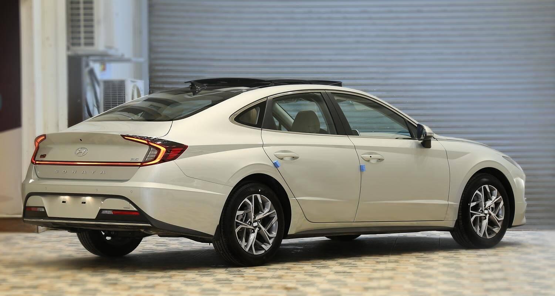 صورة خارجية للسيارة  هيونداي سوناتا Smart Plus 2021