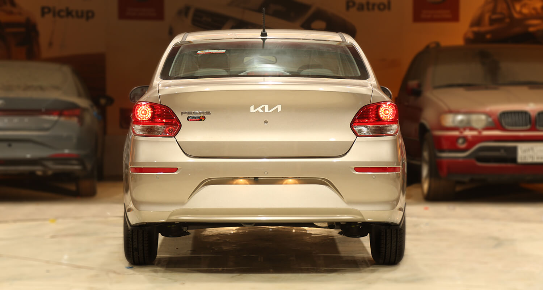 صورة خارجية للسيارة  كيا بيجاس GLS 2022